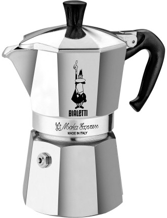 Moka Stovetop Coffee Maker 6 Cup