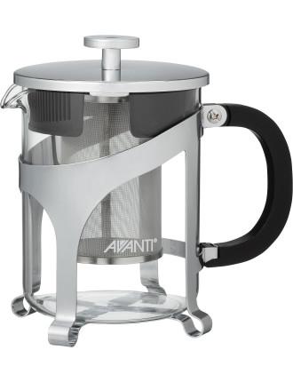 Contempo Glass/Chrome Tea Pot 600ml - 4 Cup