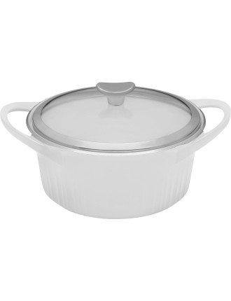 Corningware French White Dutch Oven 3.3L
