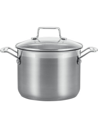 IMPACT 20cm/4.7L Universal Stockpot with Lid