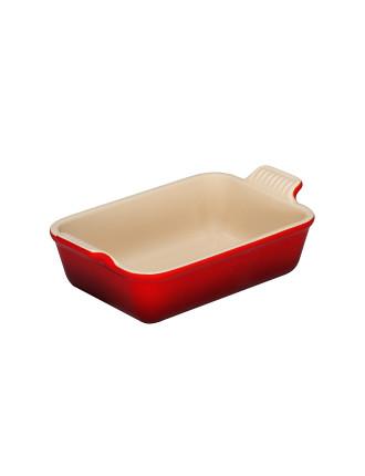 Heritage Rectangular Dish 19cm Cerise