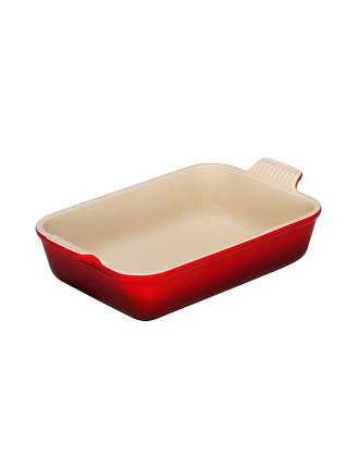 Heritage Rectangular Dish 26cm Cerise