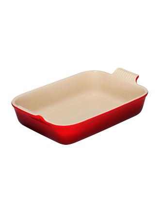 Heritage Rectangular Dish 32cm Cerise