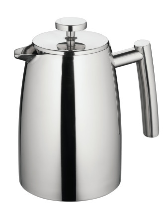 Modena Twin Wall Coffee Plunger 1L