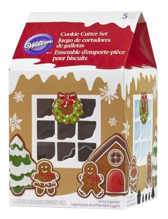Milk Carton Vintage Cookie Cutter Set