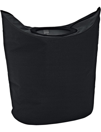 Oval Laundry Bag Black