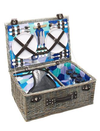 Honeycomb 4 Person Picnic Basket