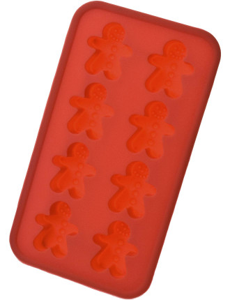 Silicone Ice Tray - Gingerbread Man