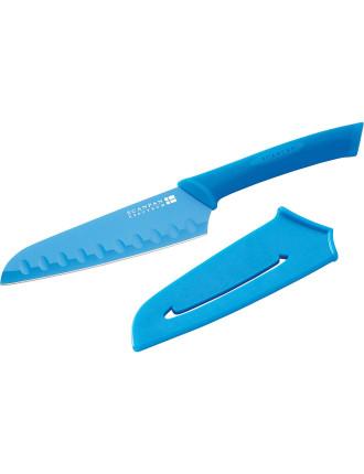 SPECTRUM Blue Santoku Knife