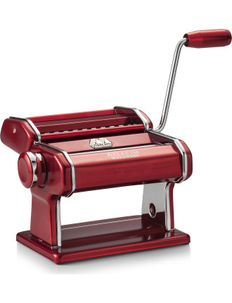 Atlas 150 Design Pasta Machine Red