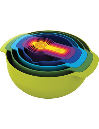Nest Set 9 Plus - Multi Colour