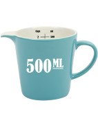 Retro Measuring Jug 500ml Blue $14.95