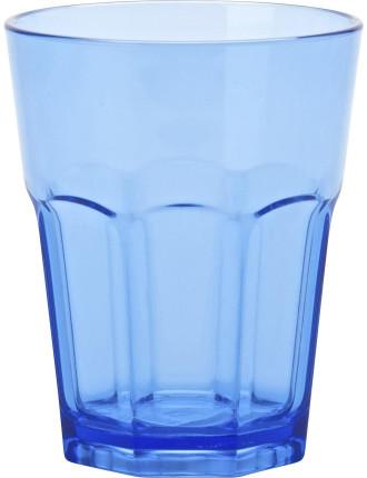 Blue Acrylic Café Tumbler