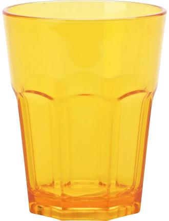 Orange Acrylic Café Tumbler