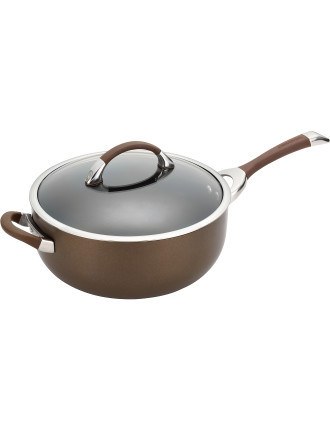 Symmetry 28cm/5.7l Covered Chef's Pan