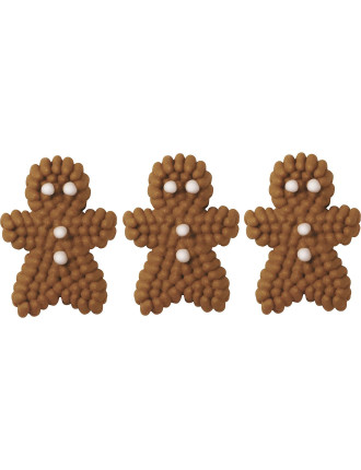 Mini Gingerbread Icing Decal