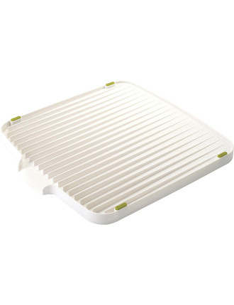 Flip Double-Sided Draining Mat - white/ green