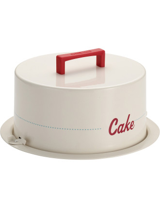 Metal Cake Carrier Cake