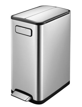 Eco Fly Step Can 30l Stainless Steel