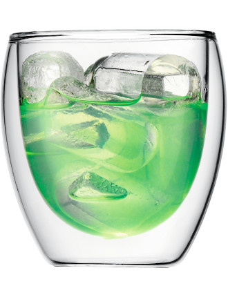 Pavina 2 piece Double Wall Glass 250ml
