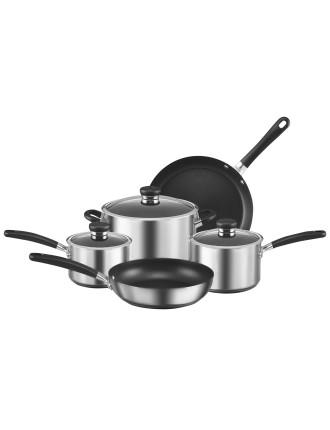 Circulon Ultimum 5pce S/Steel Cookware Set