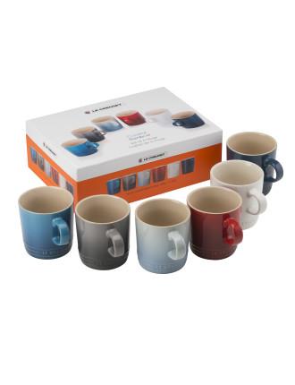 Coastal Mug 6pc Set