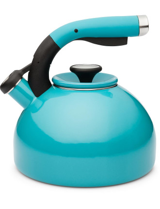 2L Enamel Whistling Kettle