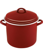 Enamel On Steel 24cm/7.6lt Stockpot $49.95