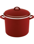 Enamel On Steel 28cm/11.4lt Stockpot $59.95