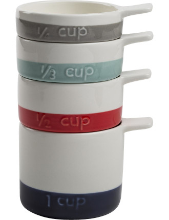 Stackable Measuring Cups S4 Colour