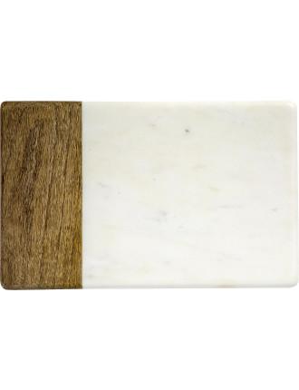 Marble/Mango Cheese Brd 28x18cm