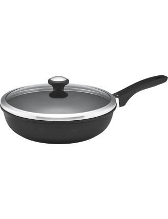 Per Forza 24cm Covered Deep French Skillet