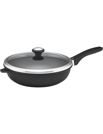 Per Forza 28cm Covered Deep French Skillet