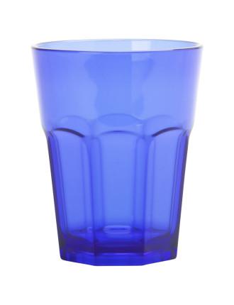 Dk Blue Acrylic Café Tumbler