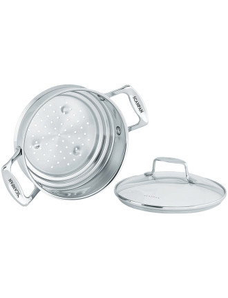 IMPACT Steamer with Glass Lid
