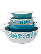 Retro Mixing Bowls set of four $69.95