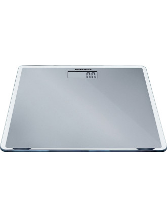 Slim Silver Bathroom Scale