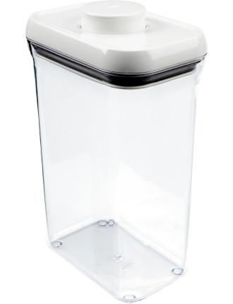 Pop' Rectangular Container 2.3L