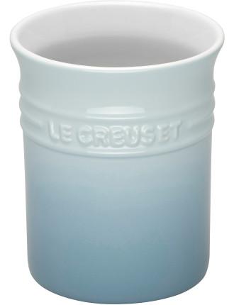 Utensil Jar Small Coastal Blue