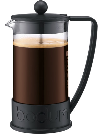 Brazil Coffee Press 8Cup Black