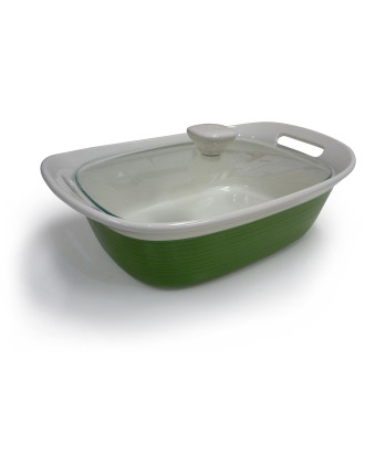 Etch 2.35L Casserole Dish with Cover