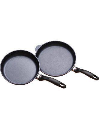 Swiss Diamond 2pce Set 24 & 28cm Frypans
