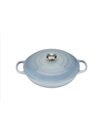Signature Shallow Casserole 30cm/3.2l Coastal Blue