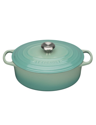 Signature Oval Casserole 29cm/4.7l Cool Mint