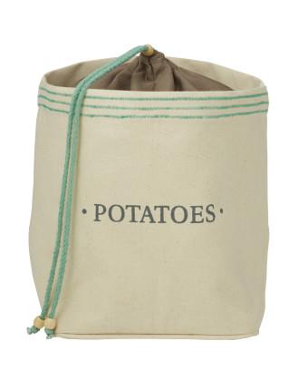 Canvas Potato Sack