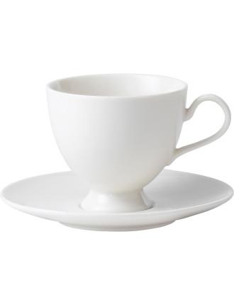 Modern Classic Teacup & Saucer