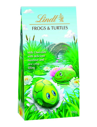 Frogs & Turtles Pouch Bag 100g