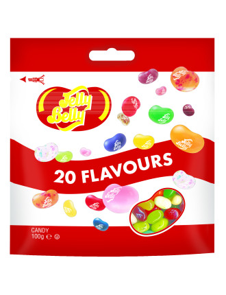 Jelly Belly 20 Flavour Bag 100