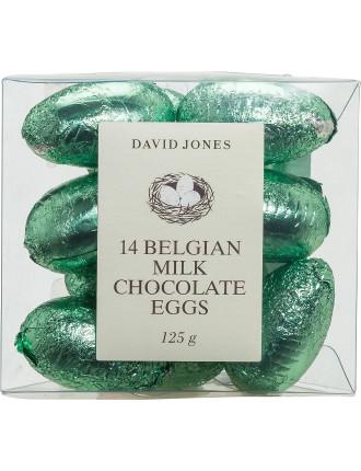 David Jones 14 Milk Chocolate Eggs 125g