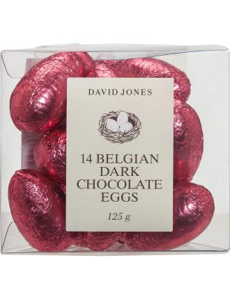 David Jones 14 Dark Chocolate Eggs 125g
